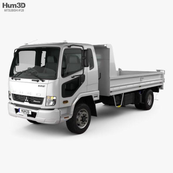 Mitsubishi Fuso Fighter Tipper Truck 2017 - 3DOcean Item for Sale