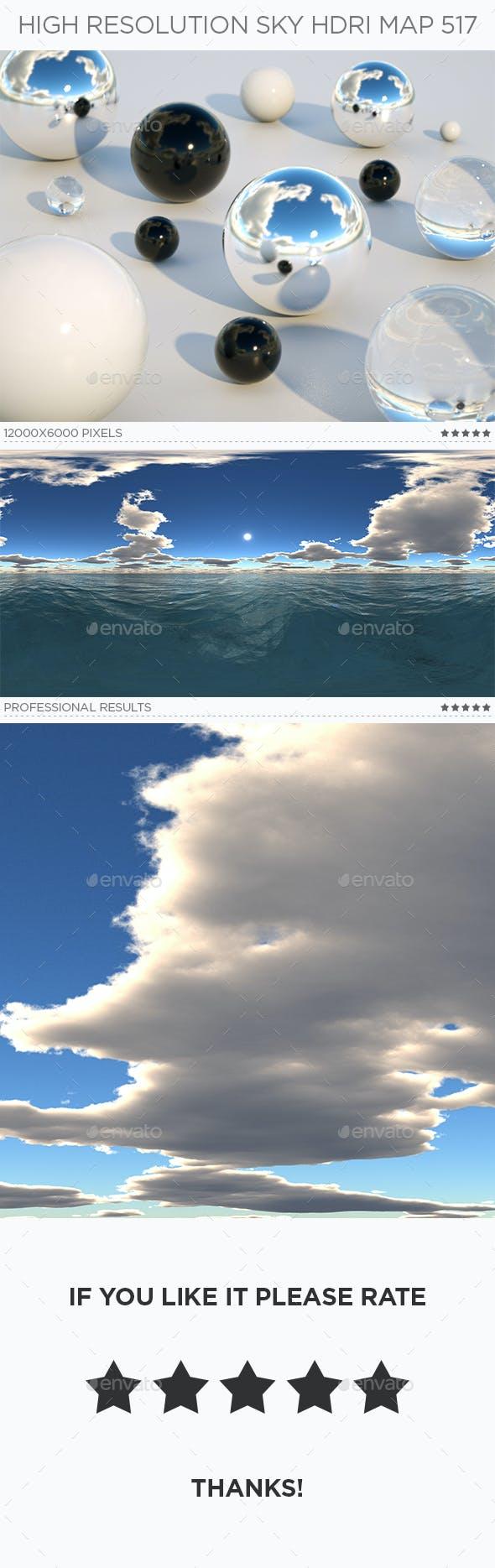 High Resolution Sky HDRi Map 517 - 3DOcean Item for Sale