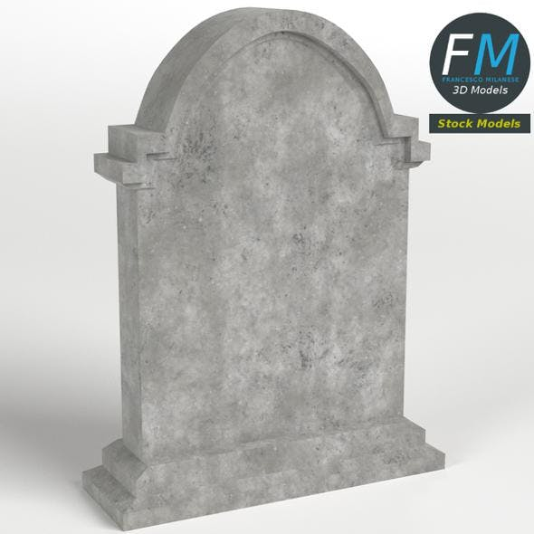 Tombstone 4 - 3DOcean Item for Sale