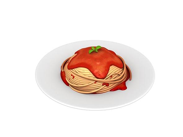 Spaghetti - 3DOcean Item for Sale