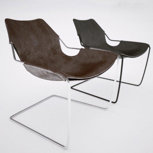 Paulistano armchair - 3DOcean Item for Sale