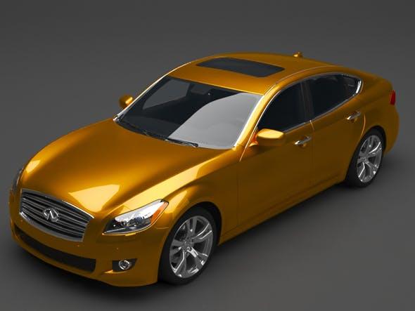 Infiniti car - 3DOcean Item for Sale