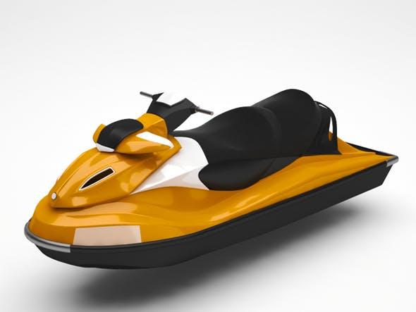Jetski - 3DOcean Item for Sale