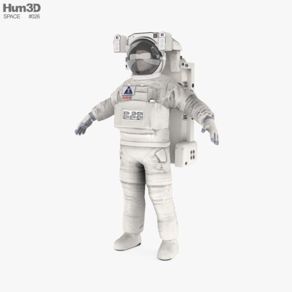 Astronaut EVA suit - 3DOcean Item for Sale