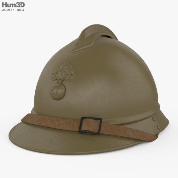 M15 Adrian helmet - 3DOcean Item for Sale