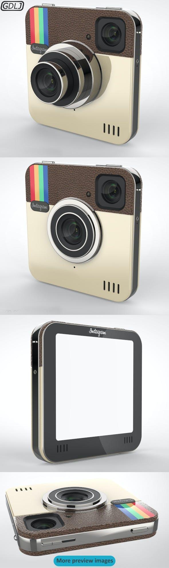 Camera Instagram - 3DOcean Item for Sale