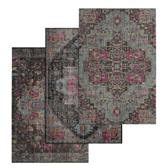 Rug Set 23 - 3DOcean Item for Sale