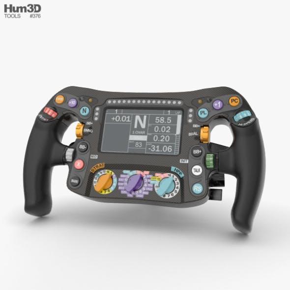 F1 Steering Wheel - 3DOcean Item for Sale