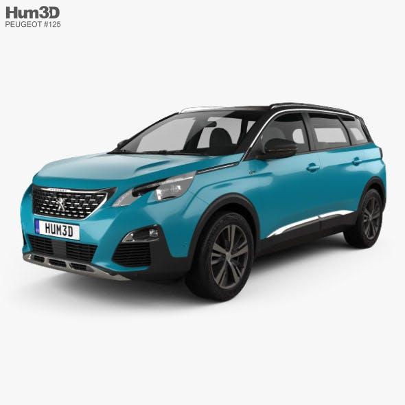 Peugeot 5008 2018 - 3DOcean Item for Sale