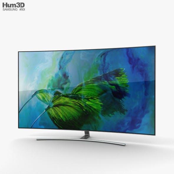 Samsung 55 Class Q8C Curved QLED 4K TV