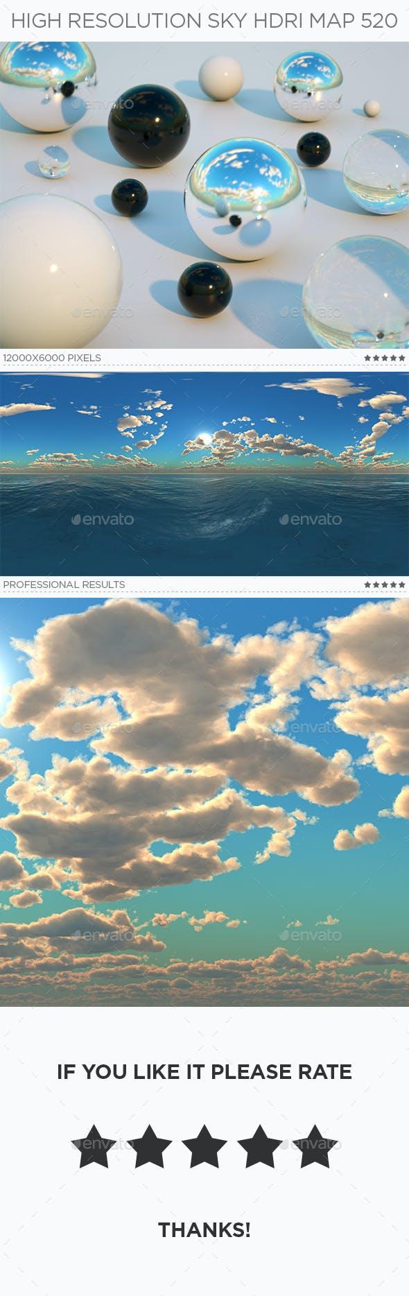 High Resolution Sky HDRi Map 520 - 3DOcean Item for Sale