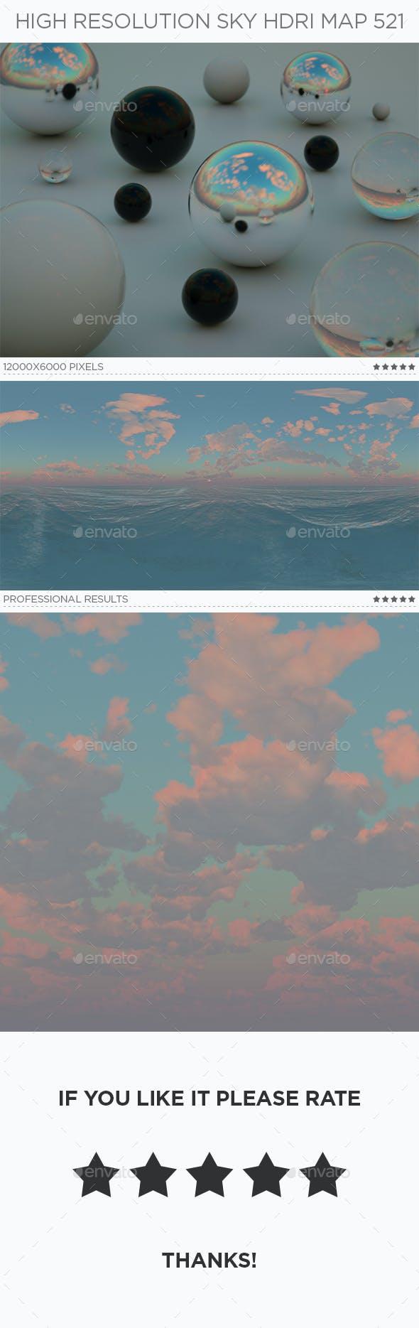 High Resolution Sky HDRi Map 521 - 3DOcean Item for Sale