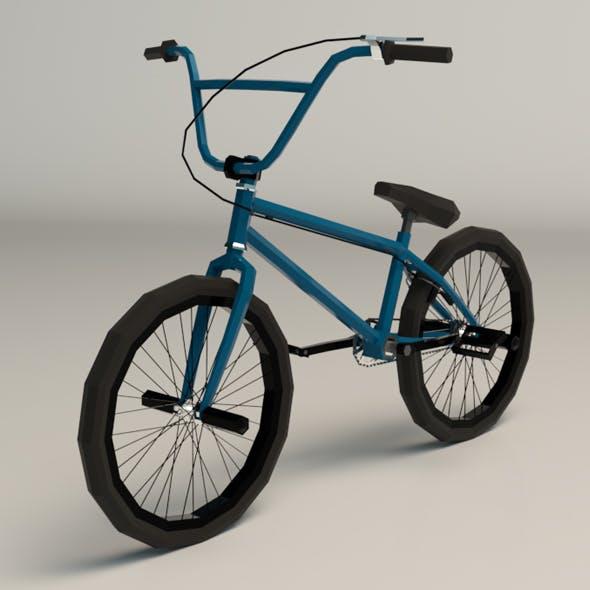 Low Poly BMX Bike - 3DOcean Item for Sale