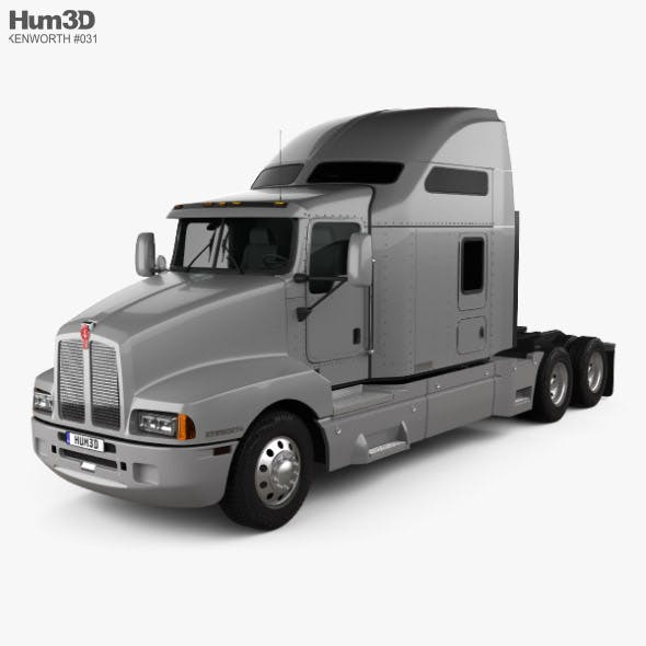 Kenworth T600 Tractor Truck 2007 - 3DOcean Item for Sale