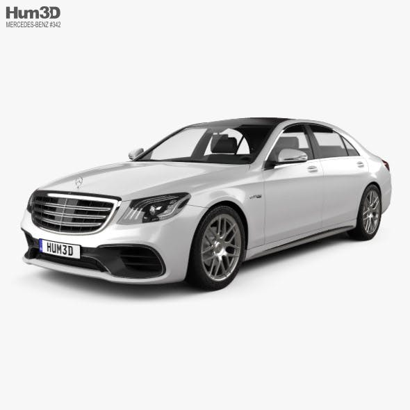 Mercedes-Benz S-class (V222) AMG 2017 - 3DOcean Item for Sale