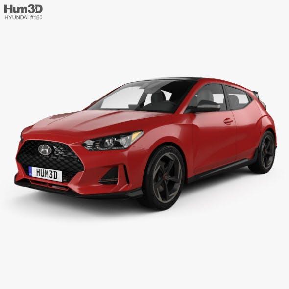 Hyundai Veloster 2019 - 3DOcean Item for Sale