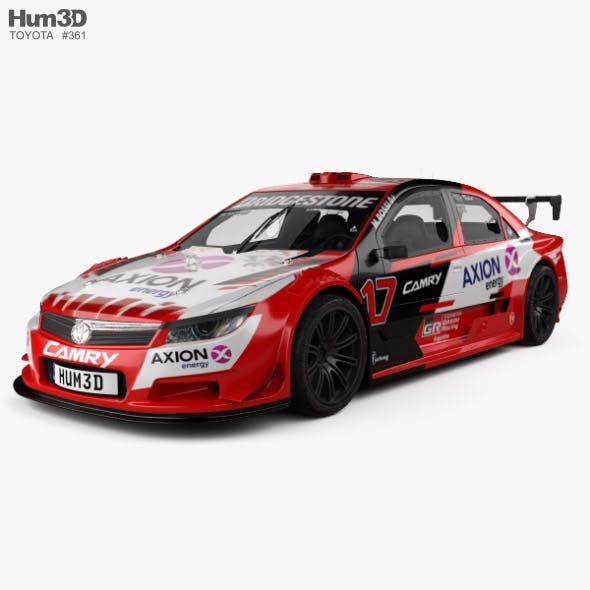 Toyota Camry Top Race 2018 - 3DOcean Item for Sale