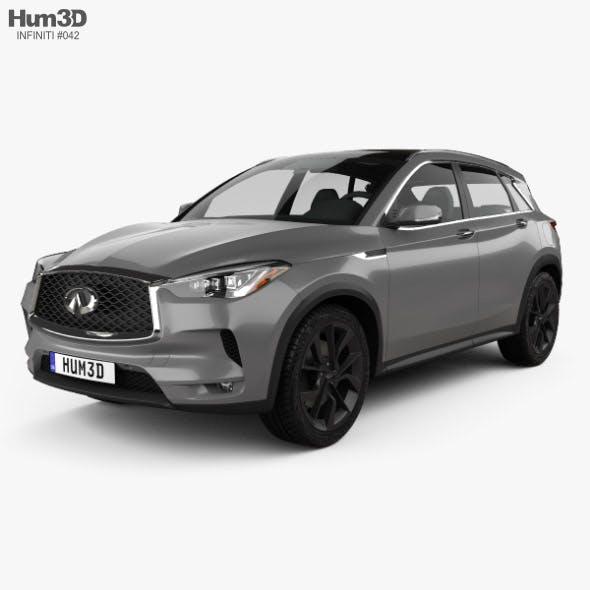 Infiniti QX50 2019 - 3DOcean Item for Sale