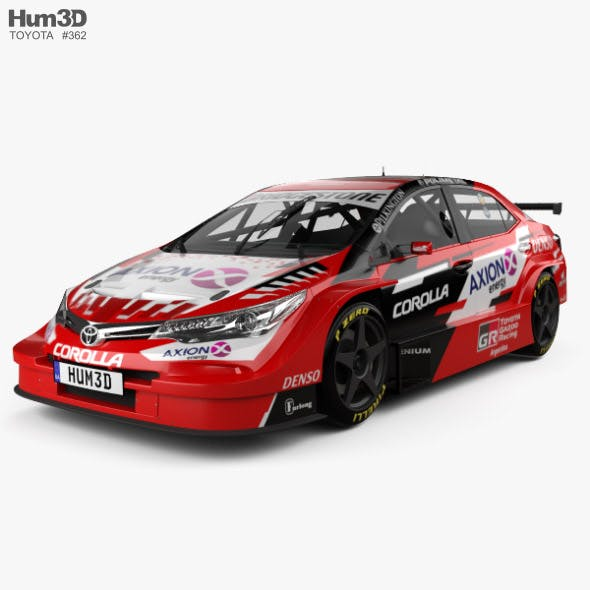 Toyota Corolla STC 2000 2018 - 3DOcean Item for Sale