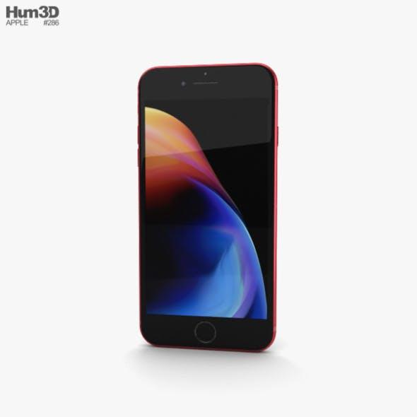 Apple iPhone 8 Plus Red - 3DOcean Item for Sale