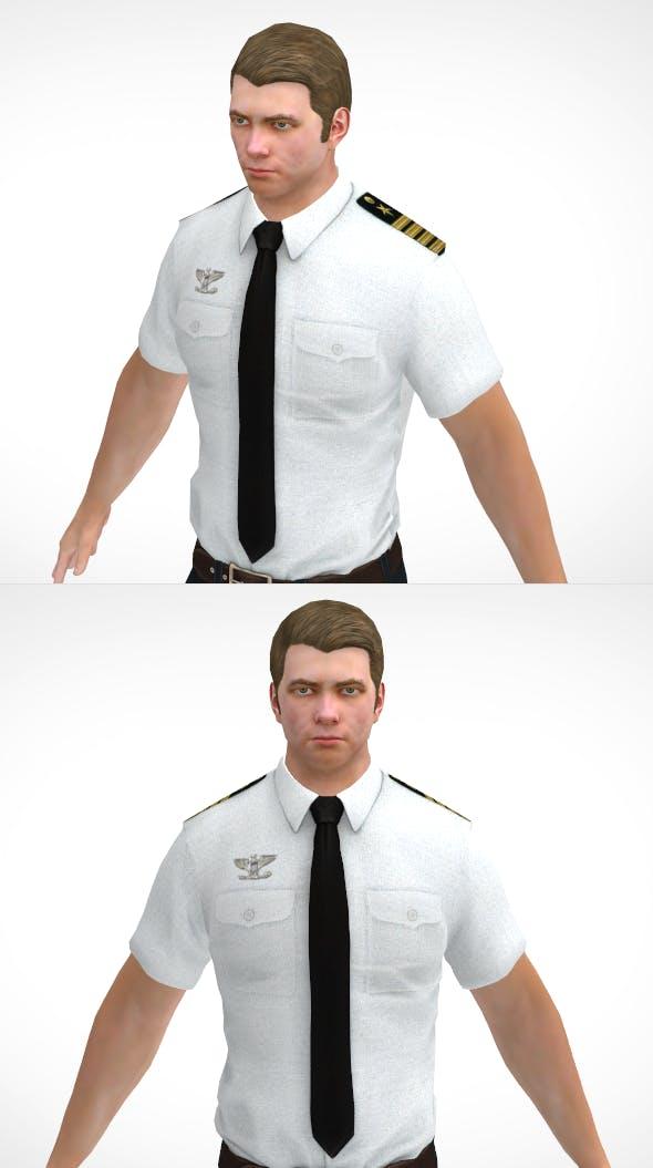 Officer - 3DOcean Item for Sale
