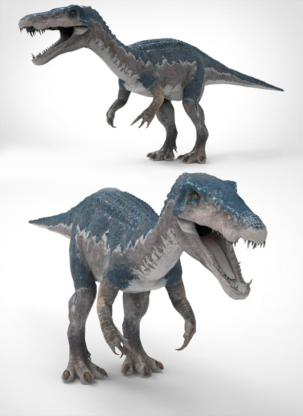 Baryonyx Model - 3DOcean Item for Sale