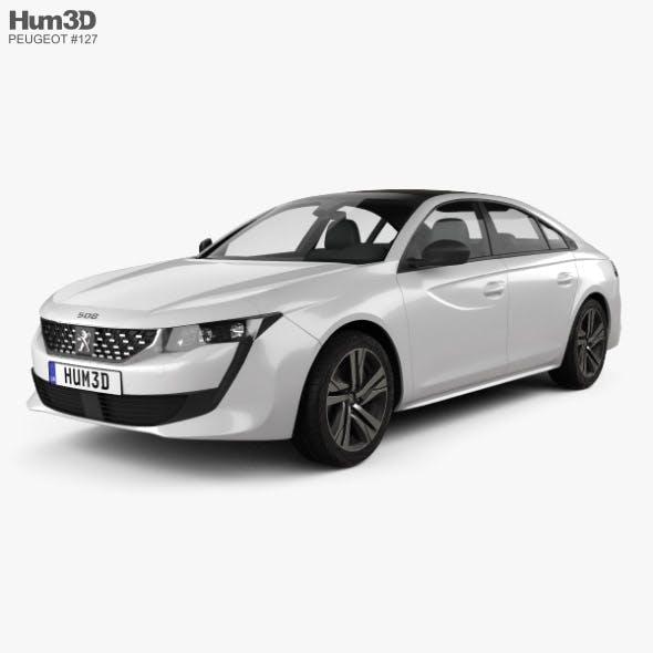 Peugeot 508 liftback GT-line 2018 - 3DOcean Item for Sale