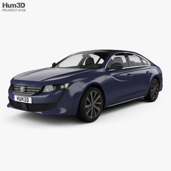 Peugeot 508 liftback 2018