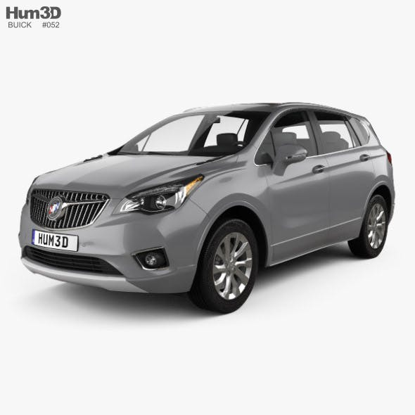 Buick Envision 2019 - 3DOcean Item for Sale