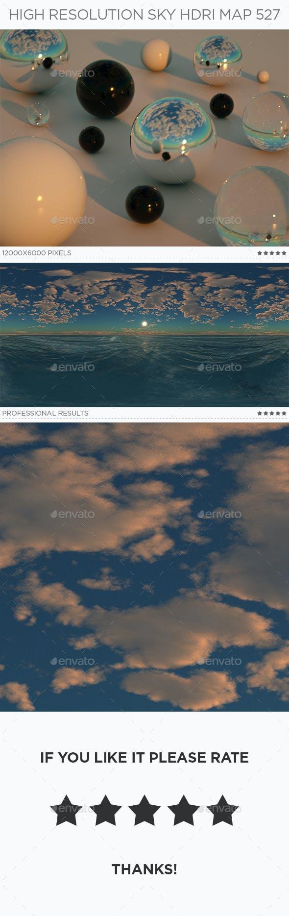 High Resolution Sky HDRi Map 527 - 3DOcean Item for Sale