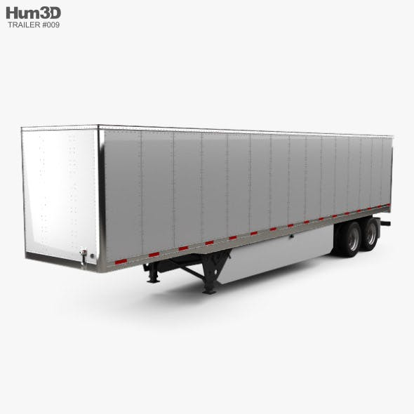Utility 4000D-X Composite Wall Semi Trailer 2014