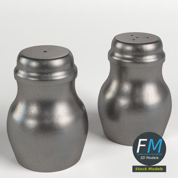 Salt and pepper - 3DOcean Item for Sale