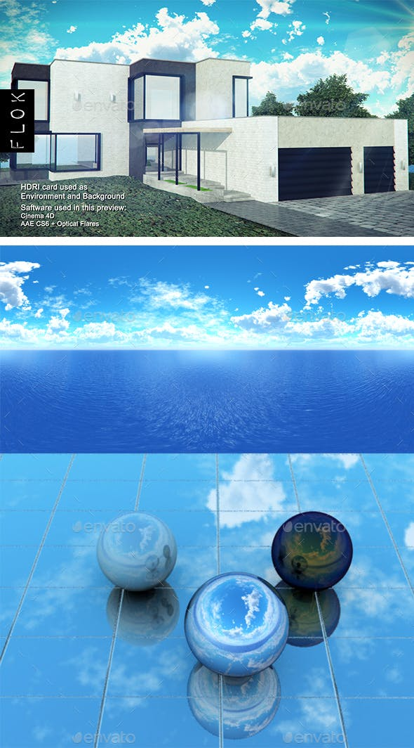 Daylight Sea 36 - 3DOcean Item for Sale
