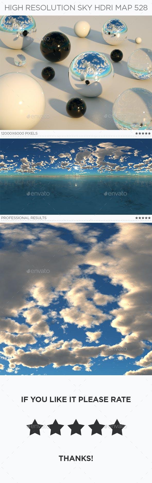 High Resolution Sky HDRi Map 528 - 3DOcean Item for Sale