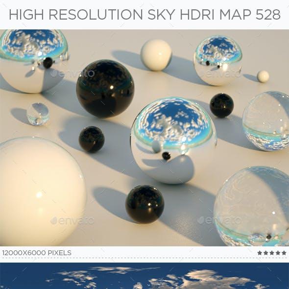High Resolution Sky HDRi Map 528