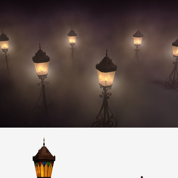 Outdoor Medieval Lamp
