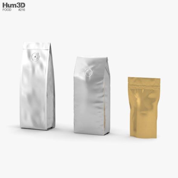 Coffee Bag - 3DOcean Item for Sale