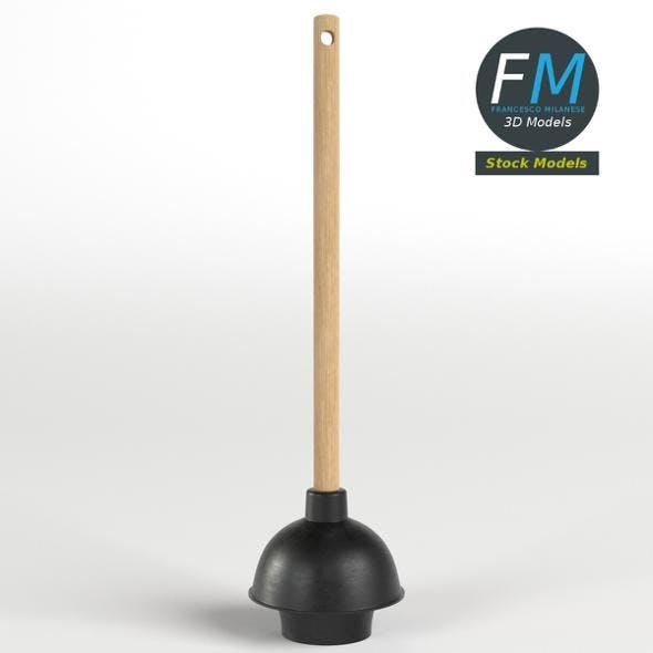 Toilet plunger - 3DOcean Item for Sale