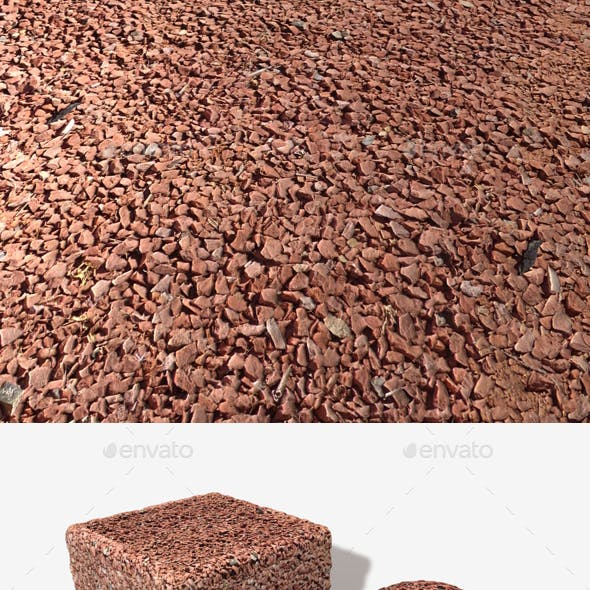 Dry Red Desert Ground Seamless Texture