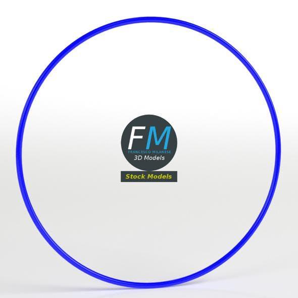 Rhythmic gymnastics hoop - 3DOcean Item for Sale