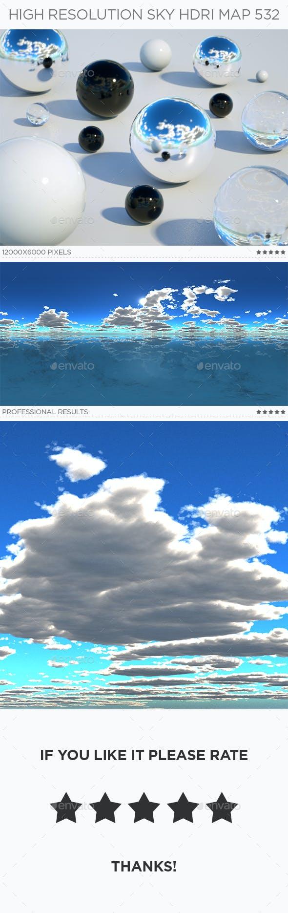 High Resolution Sky HDRi Map 532 - 3DOcean Item for Sale