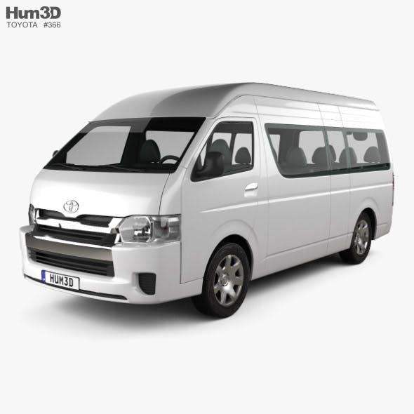 Toyota Hiace Passenger Van L2H3 GLX 2013 - 3DOcean Item for Sale
