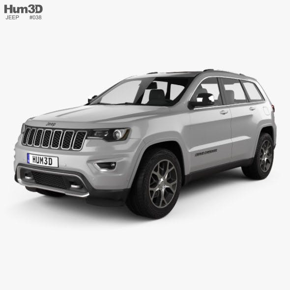 Jeep Grand Cherokee Overland 2018 - 3DOcean Item for Sale