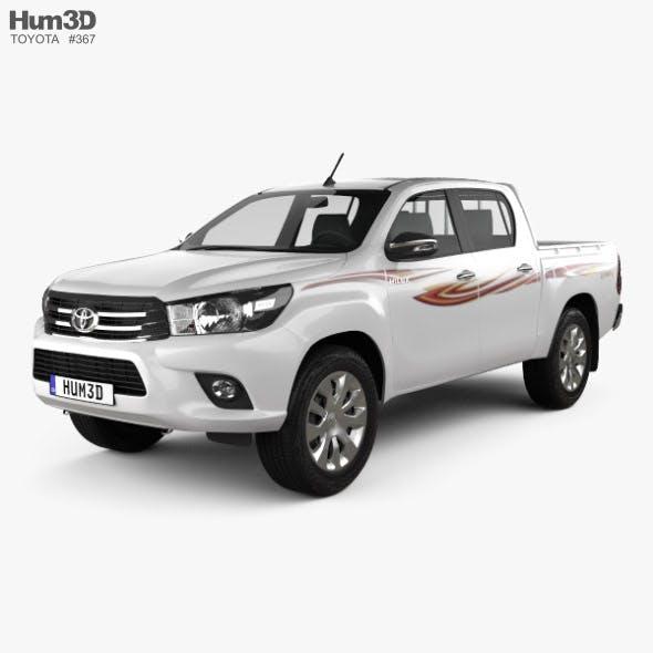 Toyota Hilux Double Cab GLX 2015