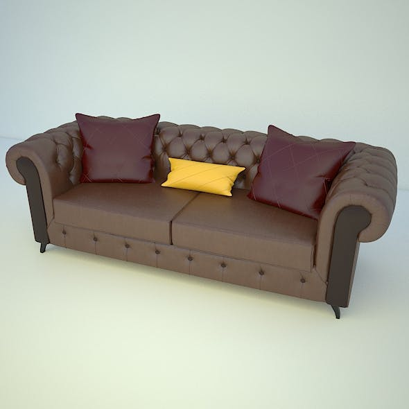 Chester Sofa - 3DOcean Item for Sale