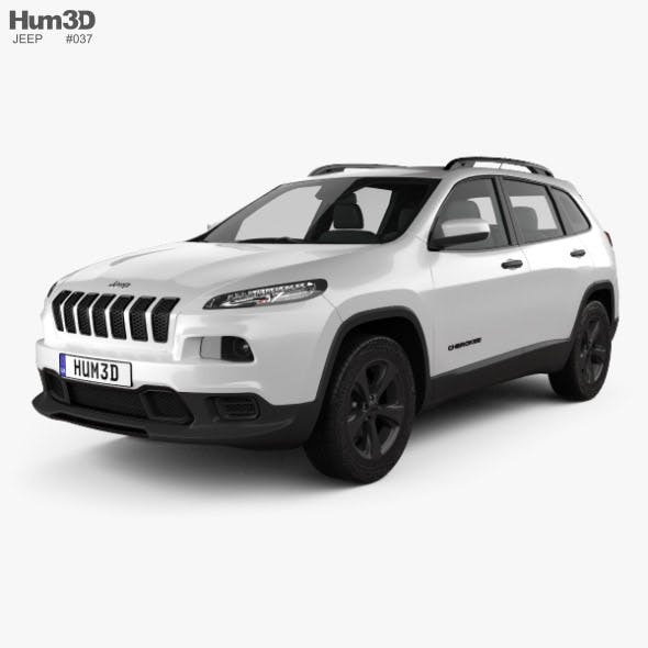 Jeep Cherokee Limited 2017 - 3DOcean Item for Sale