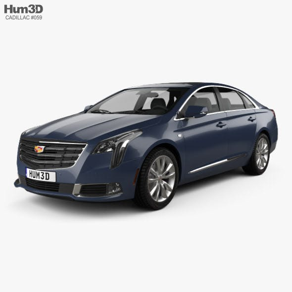 Cadillac XTS 2018 - 3DOcean Item for Sale