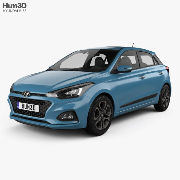 Hyundai i20 5-door 2018 - 3DOcean Item for Sale