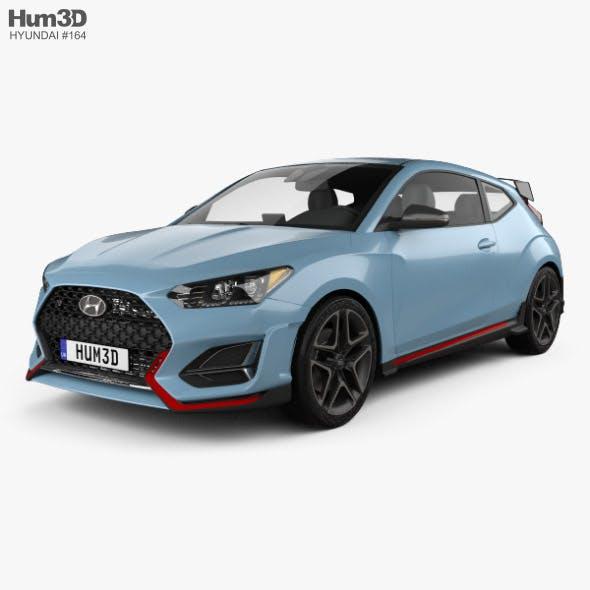 Hyundai Veloster N 2018 - 3DOcean Item for Sale