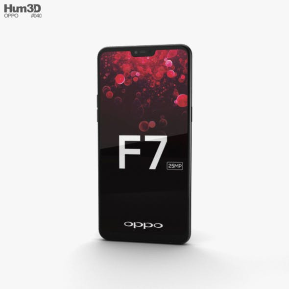 Oppo F7 Diamond Black - 3DOcean Item for Sale